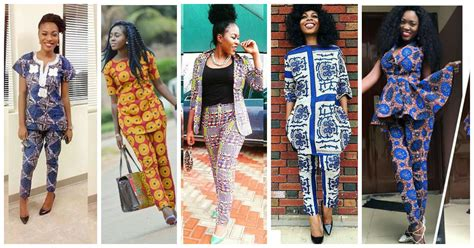 ankara designs for women trouser and jacket styles delectable trending ankara pants amillionstyles com