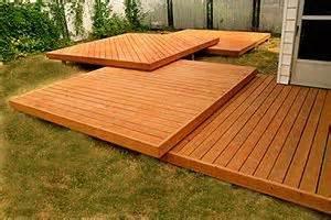 decks backyards and on