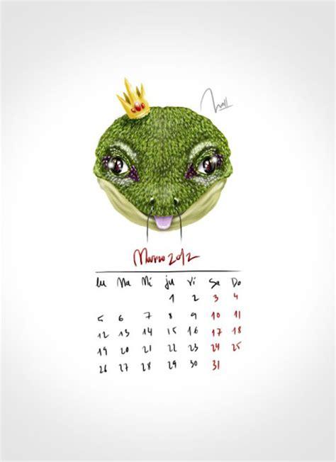 Calendario Marzo 2012 Copyota Calendario De Bichos Marzo 2012