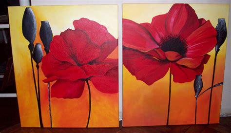 cuadros al oleo de flores modernos imagenes de cuadros de flores modernos
