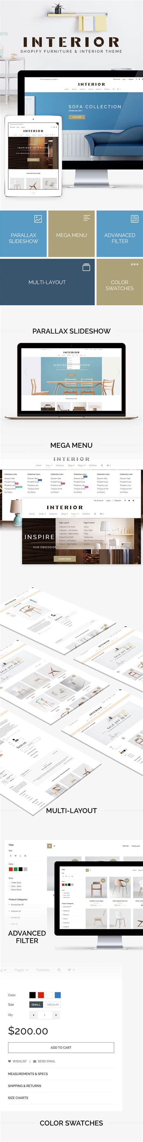 shopify themes luxury minimalist interior furniture shopify theme