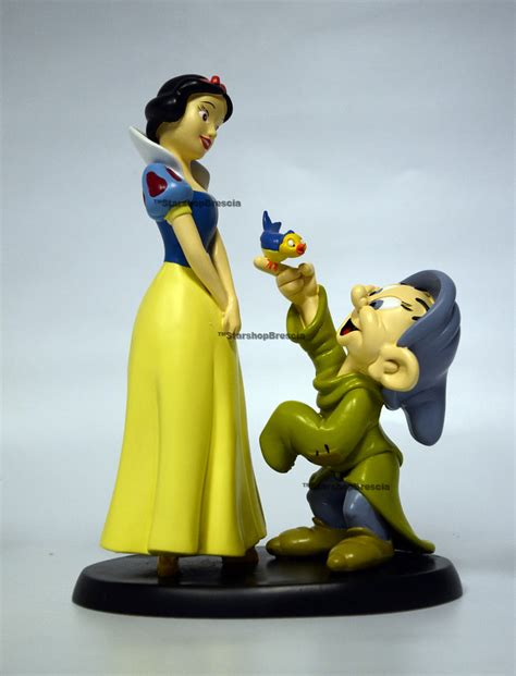 Bros Resin Snow White Bros Anak Kartun disney snow white dopey resin statue biancaneve