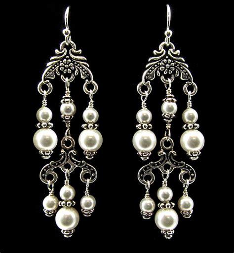 Pearl Chandelier Earrings Pearl Chandelier Earrings Earrings