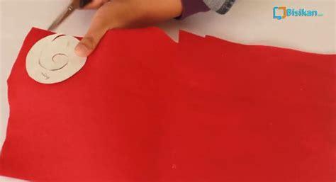 membuat aneka bros cantik  kain flanel
