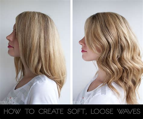 hair tutorial wand how to curl your hair to create soft loose waves using
