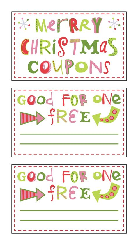 fontaholic freebie friday christmas coupons