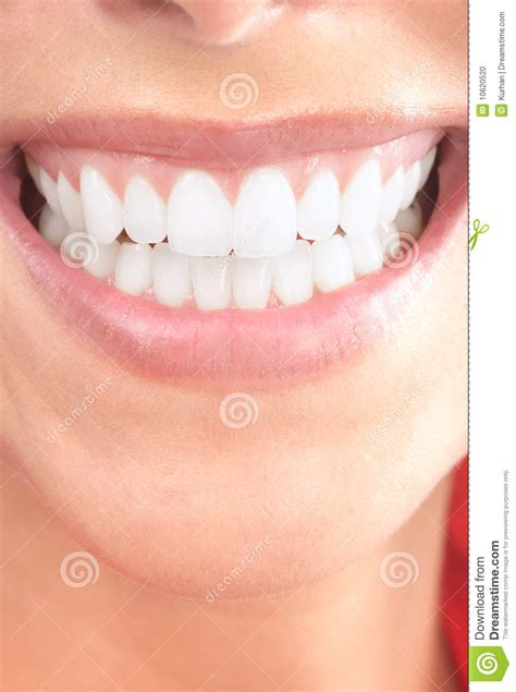 woman teeth stock photo image
