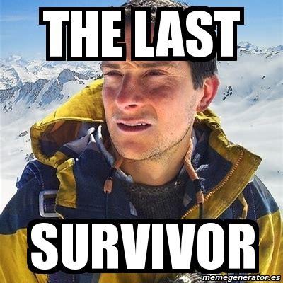 Bear Grylls Blood Meme - meme bear grylls the last survivor 2730654