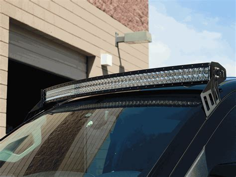 Roof Mounts For Rds Series Curved Led Light Bars By Rigid Roof Led Light Bar