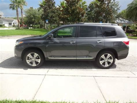 Toyota Highlander Warranty Purchase Used 2011 Toyota Highlander Limited Suv Warranty