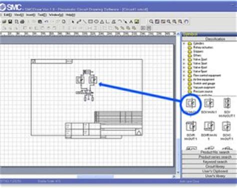 smc launches free pneumatic circuit design software