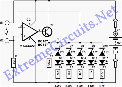 wiring led diodes in series continuity tester electronic circuits