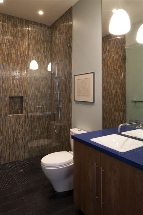 Earth Tone Bathroom Designs doorless walk in shower designs bathroom contemporary with
