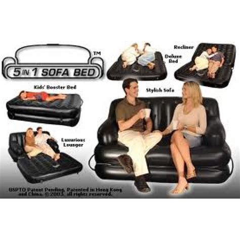 air sofa bed 5 in 1 with with nazar