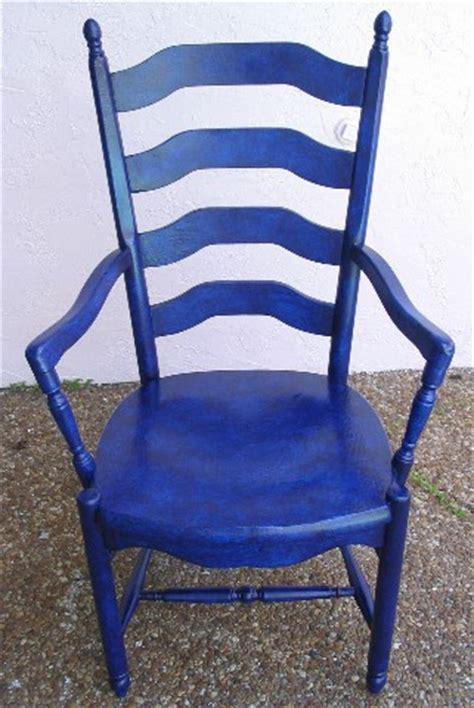 Blue Kitchen Chairs by Adrian S Embellishments Cobalt Blue Kitchen Chair