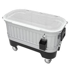igloo bar 125 qt 4 wheeled cooler 00049302 the