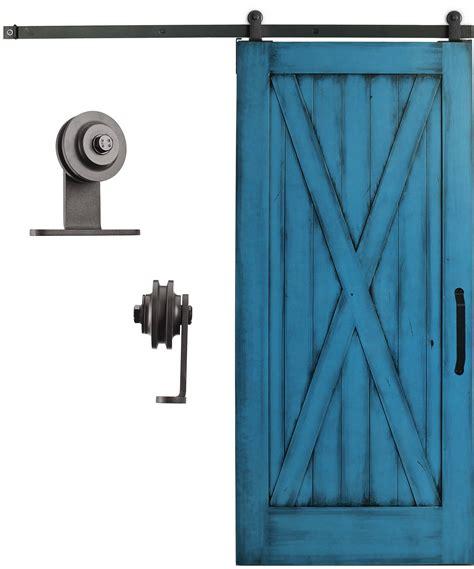 Barn Door Tracking Mount Sliding Cabinet Barn Door Hardware Kit 6 6 Steel