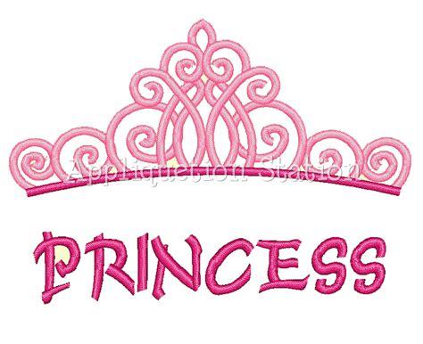 Crown 4 In1 Baby Machine princess tiara crown machine embroidery design
