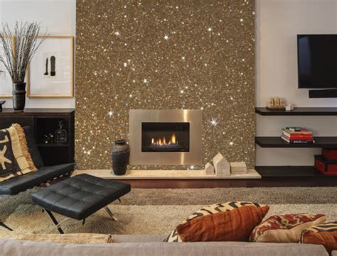 glitter wallpaper emmerdale this is what gold glitter wallcovering would look like on
