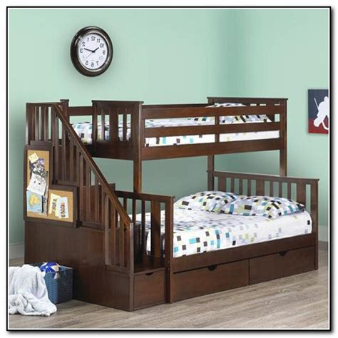 bunk beds with stairs canada bunk beds with stairs beds home design ideas