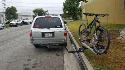 swinging bike rack hitch hitchswing wilcooffroad comwilcooffroad com