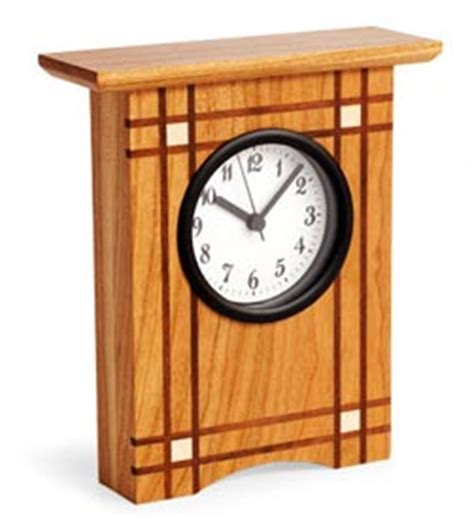 Desk Clock Plans by Deco Desk Clock Woodworking Plan From Wood Magazine