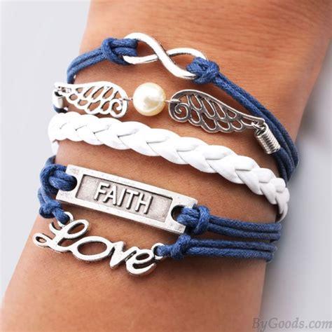pearl infinity bracelet wings faith pearl infinity bracelets fashion