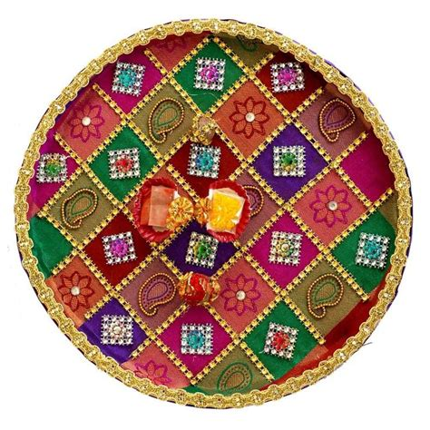 decorative aarti thali online 75 best images about thali decor on pinterest peacocks