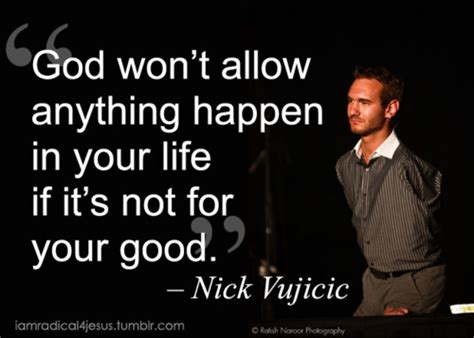 about nick vujicic biography in telugu god won t allow anything to happen in your life if it s