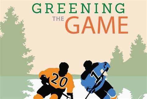 your the nhl learned its infographic how the nhl is greening up its game