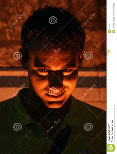 devil face stock image image 6753391