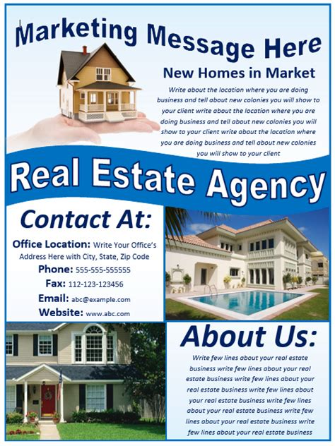 flyer template real estate vol 02 all design template