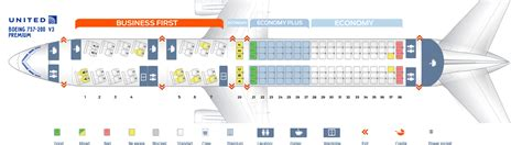 united 777 200 seat map boeing 777 200 seat map united airlines www