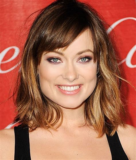 hairstyles for square jaw lines a style which is feathered at the top and delicate around