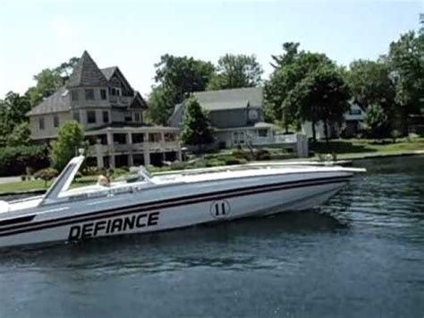 thunder in paradise boat for sale 45 wellcraft scarab twin 454 w 450hp each youtube