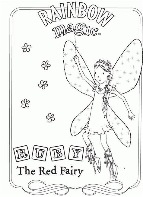 Rainbow Magic Coloring Pages rainbow magic coloring pages coloringpagesabc