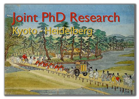 Joint Mba Phd Programs by Joint Phd Programme Kyoto Heidelberg