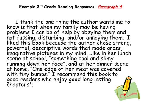 exles of themes in literature 4th grade response to literature essay exle 4th grade best 25