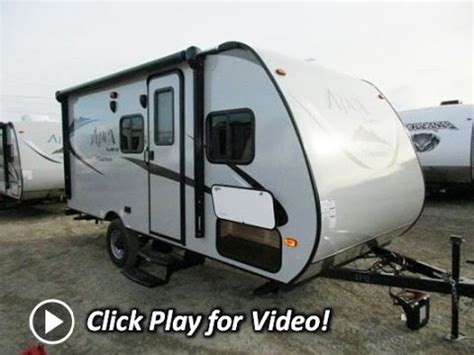 small travel trailer with outdoor kitchen haylettrv 2016 coachmen apex nano 172cks outside