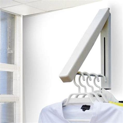 retractable wall shop popular bathroom clothes rack from china aliexpress