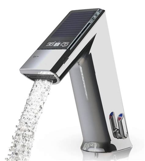 Touch Free Kitchen Faucets electronic lavatory faucet by iqua