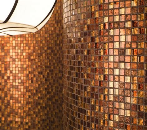 copper bathroom tiles copper tiles bing images our home fireplace room