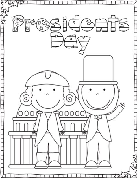 presidents day coloring pages preschool ship shape first grade president s day printables freebie
