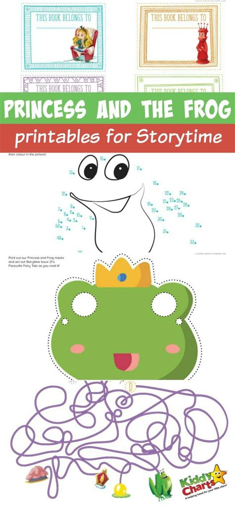 Princess And The Frog Printables For Storytime Princess And The Frog Printable