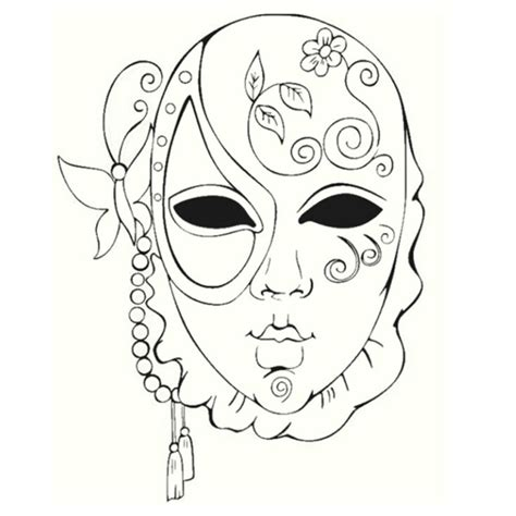 venetian masks coloring book for adults 135 best images about mask en carnaval kleuren on