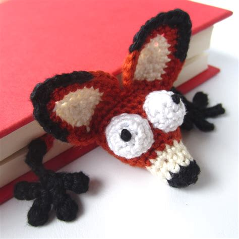 amigurumi fox amigurumi crochet fox bookmark quot book fox quot supergurumi