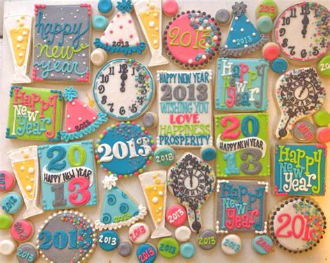 new year cut out 17 best images about new years decorated cookies and cake