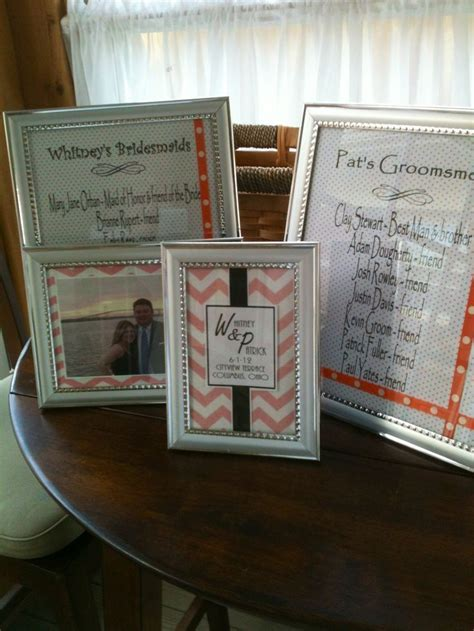 bridal shower favors picture frames 17 best images about picture frames on