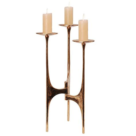 Floor Standing Candle Holders Harjes Metallkunst Candlesticks Candle Holder Bronze