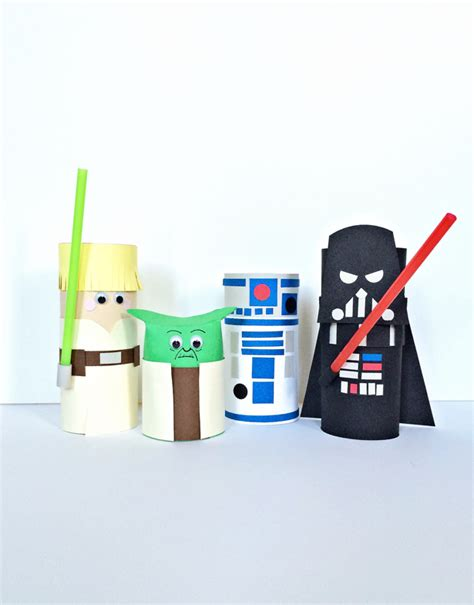 Wars Paper Crafts - hello wonderful wars characters toilet craft